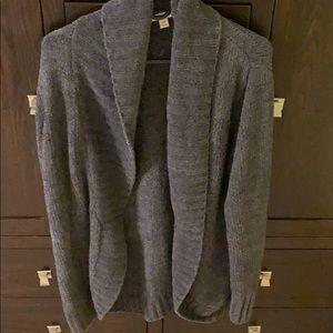 Super soft grey cardigan size L